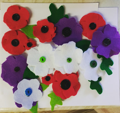 We made a lot of poppies
