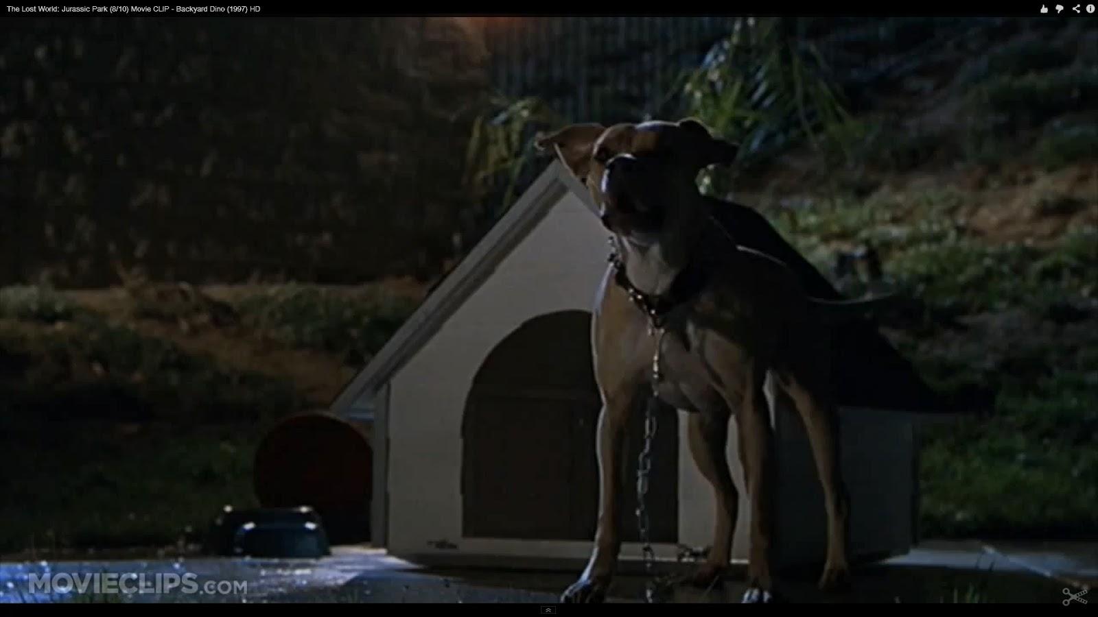 Jurassic Park  T Rex Eats Dog