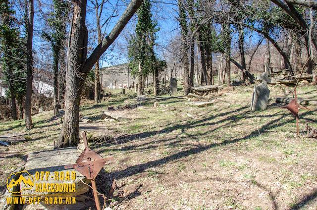 Serbian WW1 cemetery near St. Petka church, Skochivir village, Macedonia