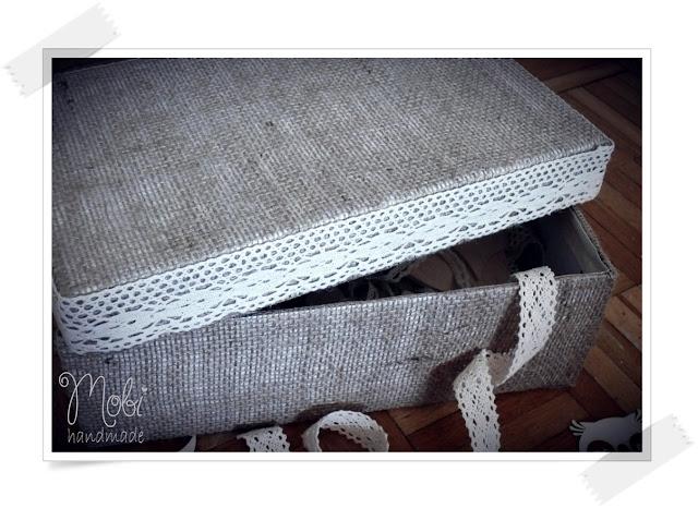 DIY, przechowywanie, tutorial, z juty, pudełko,