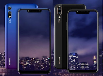Micromax Infinity N11 and N12 with Notch Display, 4000mAh Battery Launched in India