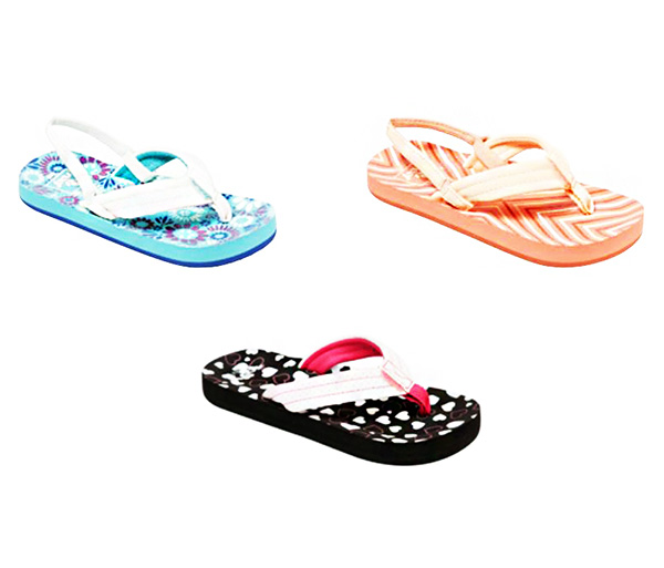 Ojotas primavera verano 2018. Moda primavera verano 2018 calzado infantil. Moda verano 2018.