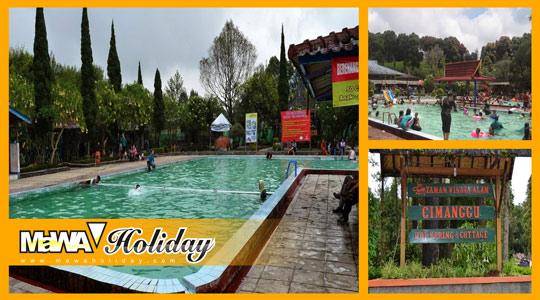 Wisata Cimanggu Ciwalini Hot Spring Resort Ciwidey