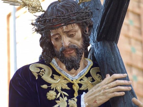 Horario e Itinerario Via Crucis Nuestro Padre Jesús de la Caridad (San José Obrero). Sevilla 30 de Marzo del 2019