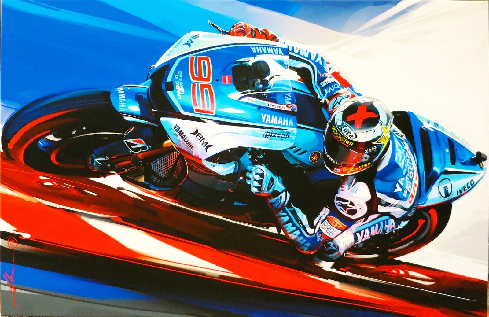 Jorge Lorenzo – 2012 MotoGP World Champion :: John Krsteski