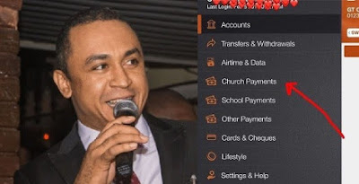 """Daddy Freeze Reacts To """"Church Payment"""" Option In Mobile Banking App"""