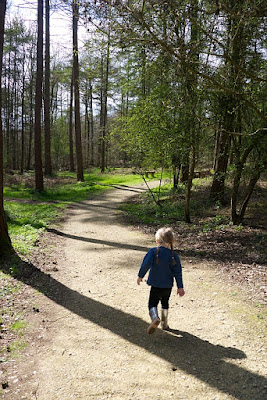 Sophie walking through GreenAcres Chilterns