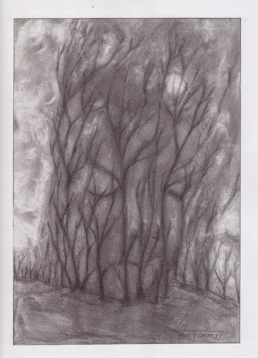 "One more graphite piece ""Trees"""