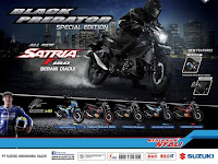 Mewahnya Suzuki All New Satria F150 Black Predator