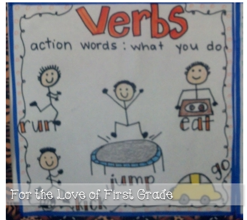 For The Love Of First Grade Ready Set Verbs