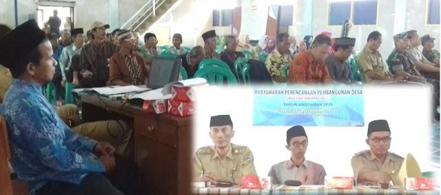 Musrenbang Desa Cileuleus Tetapkan RKPDes 2019 dan Rencanakan Pembangunan 2020