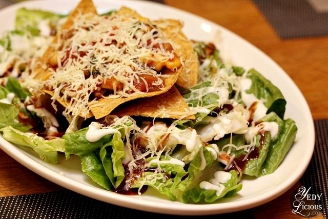 Beeffalo Taco BBQ Salad