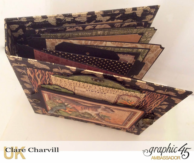 Safari Adventure Ring Binder Clare Charvill Graphic 45