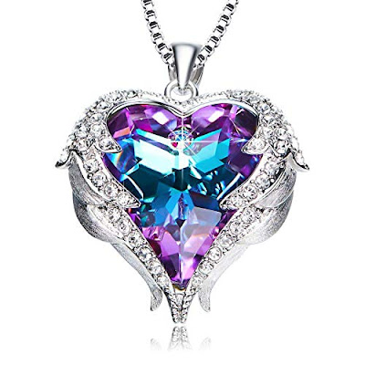 NEWNOVE Heart of Ocean Pendant Necklaces