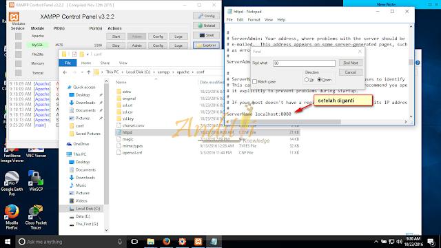 Cara Mengatasi Apache di XAMPP tidak bisa running-anditii.web.id