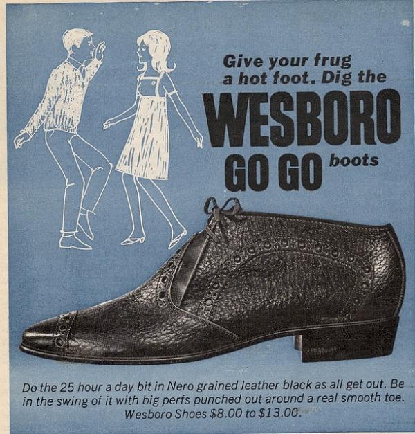 Big Living Room Couches Coastal Decor Ideas Retro Shoe Adverts, 1960s-70s ~ Vintage Everyday