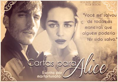 Capa de Fanfic: Cartas para Alice (marfortunato)