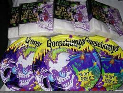 Goosebumps Birthday Party Supplies