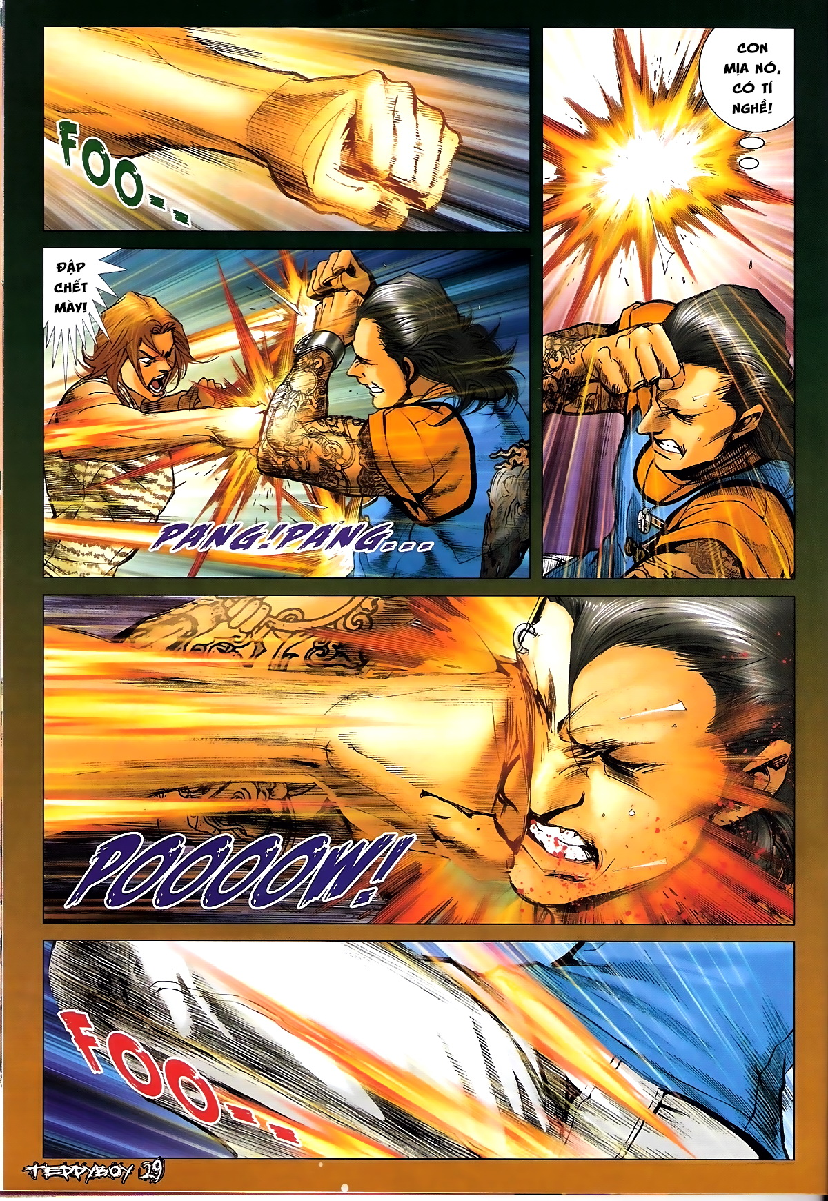Người Trong Giang Hồ - Chapter 1331: Chạm trán - Pic 25
