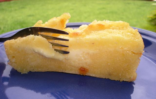 Torta Salgada de Cremosa de Cará ou Inhame