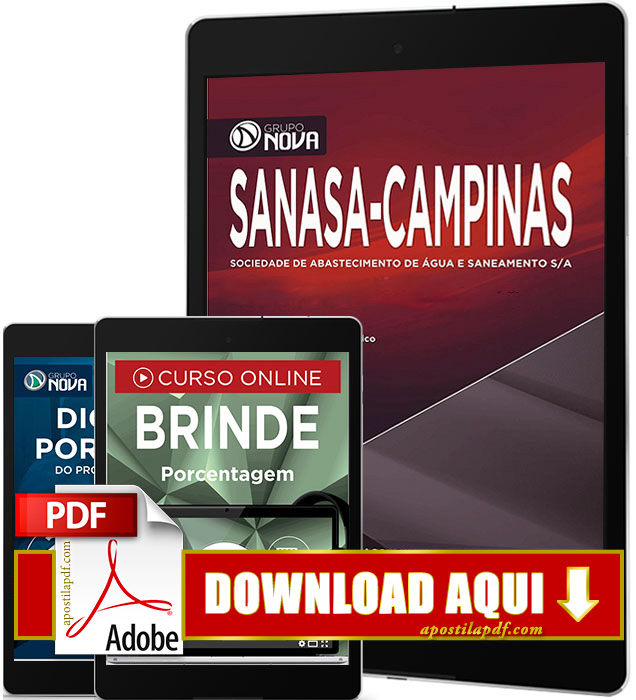 Apostila SANASA 2016 PDF Download