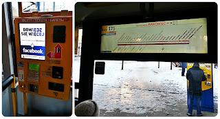 Autobús 175 para ir al aeropuerto en Varsovia