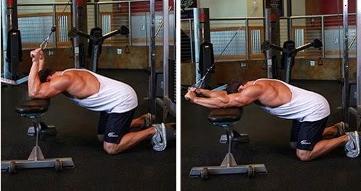 Bài tập tay sau tăng cơ bắp cho tay sau hiệu quả