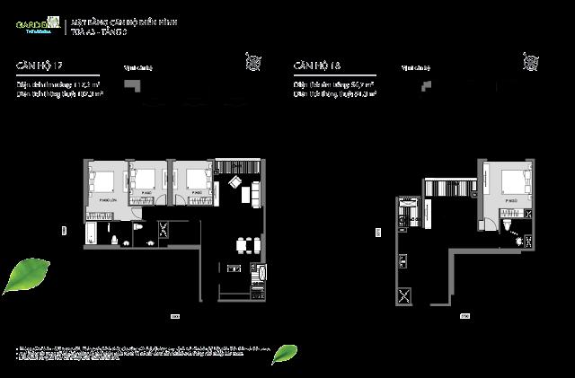 17 và 18 tầng 3 The Arcadia Vinhomes Gardenia