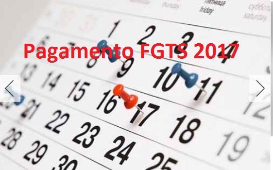 Pagamento do FGTS 2017 começa em Março