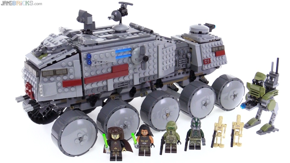 Lego Star Wars 2016 Clone Turbo Tank Review 75151