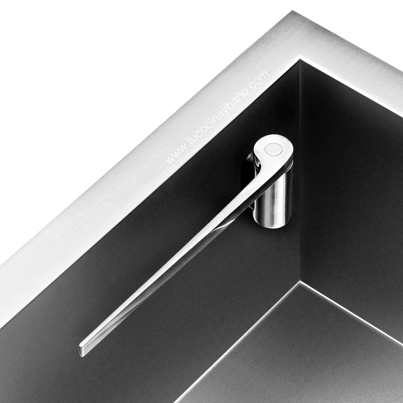 soporte bayeta recto fregadero magnetico