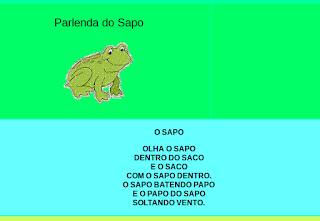 http://www.jogosdaescola.com.br/play/atividades/atividades_portugues/parlendasapo/parlendasapo.html