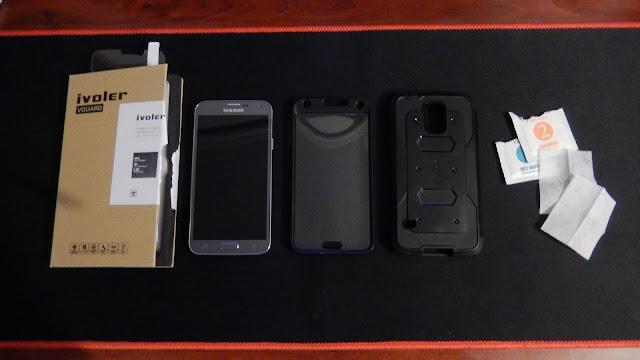 Año nuevo, protector de móvil nuevo... (Vidrio templado iVoler y carcasa de i-Blason con protector para la pantalla integrado) DSCN1975