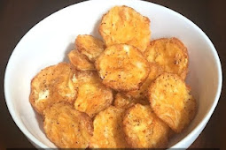 Just 2 Ingredients - Low Carb Chips Recipe