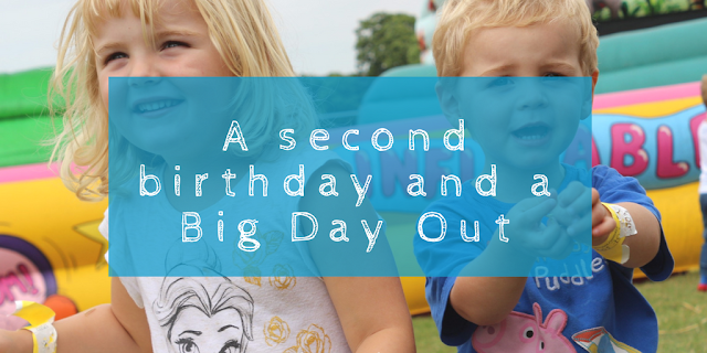 A second birthday and a Big Day Out, Maidstone, Kent with lots of minions