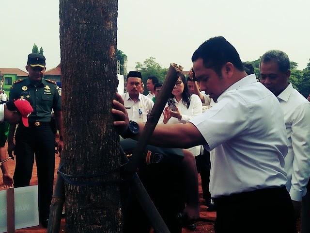 Arief. R. Wismansyah Hadiri  Acara Puncak Penanaman Pohon 2018 Kota Tangerang.