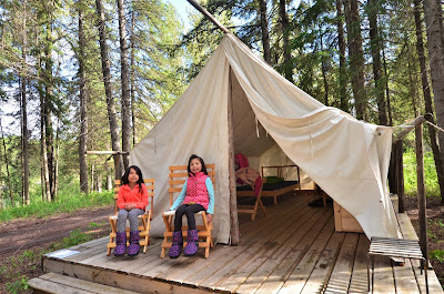 Rocky Mountain House National Historic Site Trappers Tent