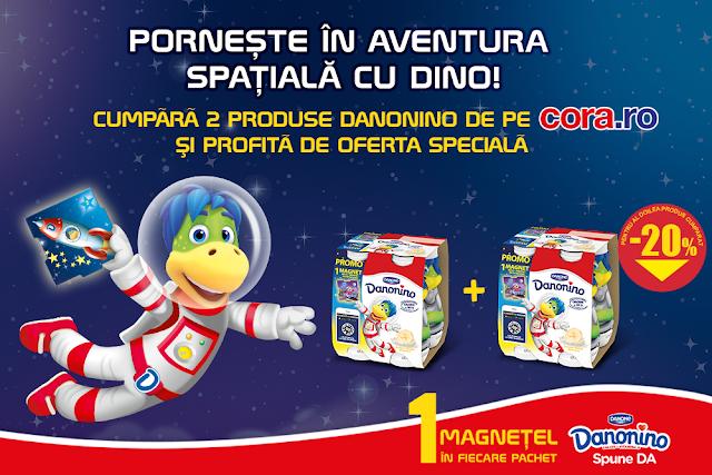 Porneste in aventura spatiala cu Dino!