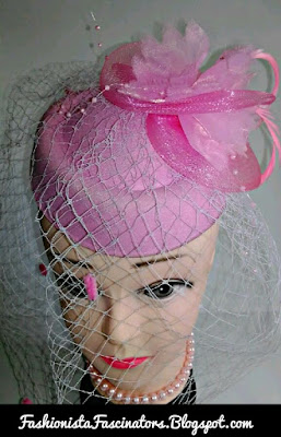 Pink fascinator hats for sale in Kenya