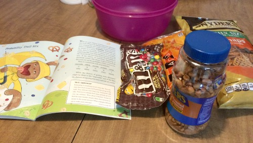 Probability Trail Mix from Eat Your Math Homework