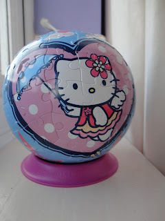 Top Enders Hello Kitty Puzzle Ball