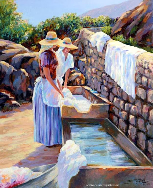 lavanderas-celestino-mesa