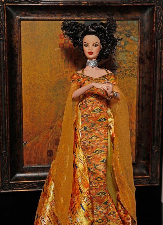 mattel releases new fine art dolls the davinci van gogh klimt barbies if it 39 s hip it 39 s here. Black Bedroom Furniture Sets. Home Design Ideas