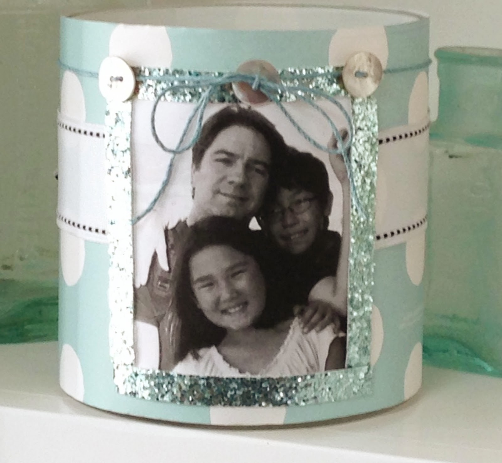 Personalized Photo Candle Holders
