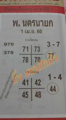 เลขเด่นบน  3  7 970  378 71  73  78  70  77 เลขเด่นล่าง  1  4 41  42  45  48  44