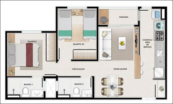 modelo casa pequena