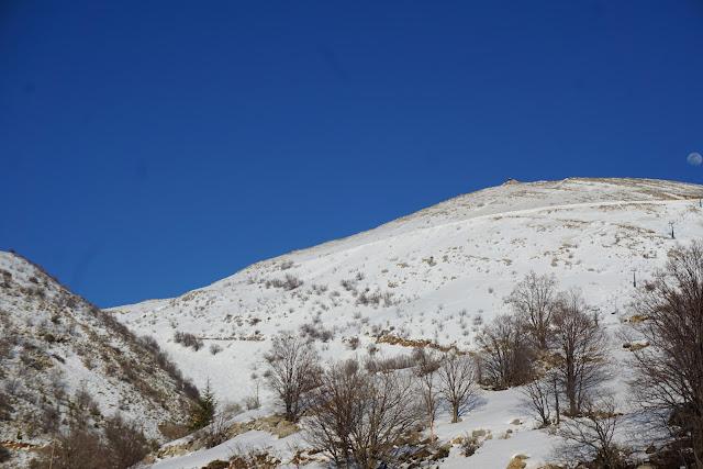 אתר החרמון מלא שלג
