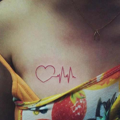 kalp dövme modelleri heart tattoo designs