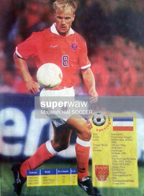 Dennis Bergkamp Holland