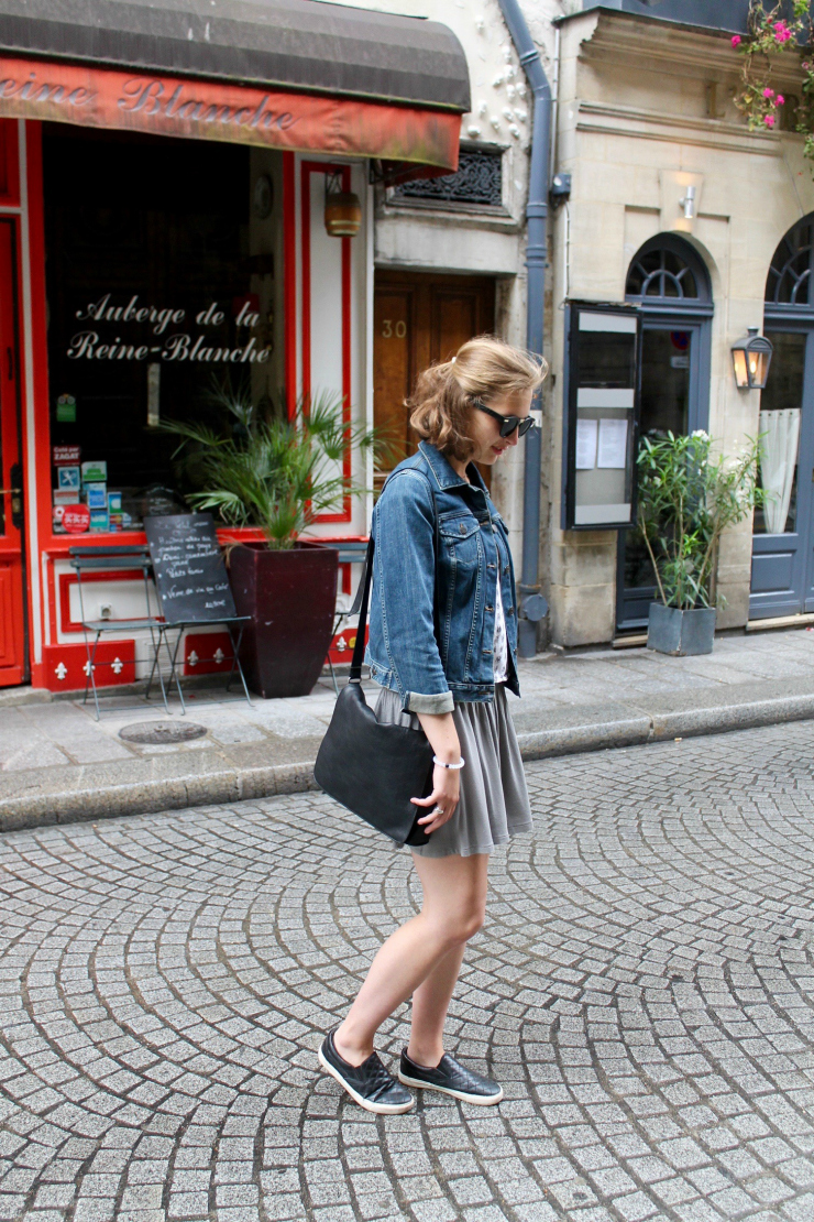 Parisian fashion ootd
